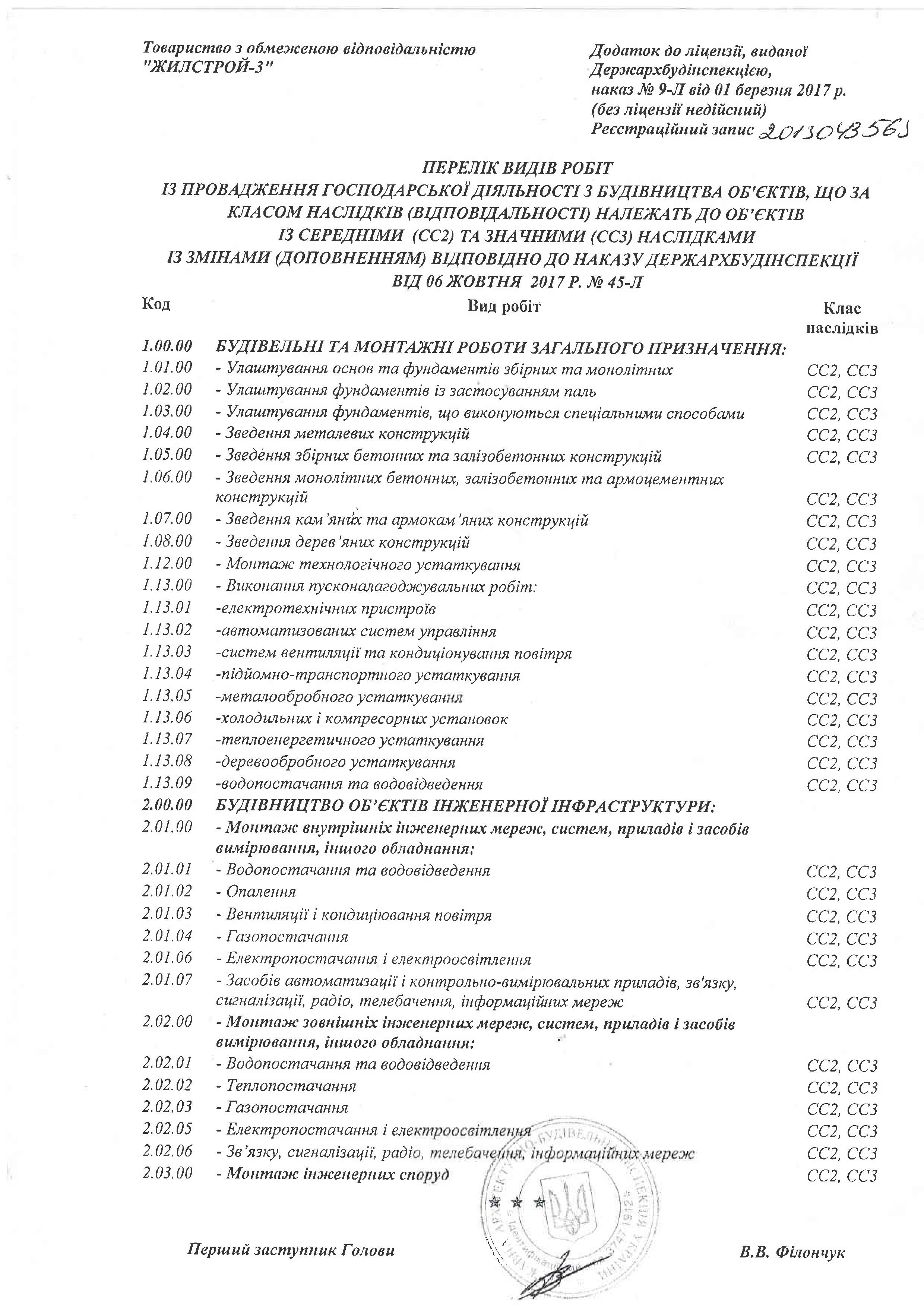 Лiцензiя, 2 стор.